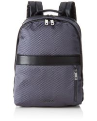 Guess Gray Global Functional Backpack for men