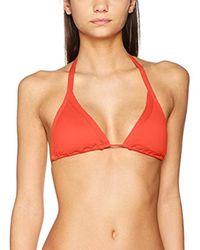 30573-065-Bikini Top Donna Rosso (Sienna) 42(Taglia del Produttore:14) di Seafolly in Multicolor