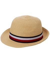 Winning Tommy Team RWB Hat Sombrero Tommy Hilfiger de color Natural