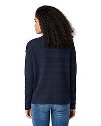 Tom Tailor Blue Für Frauen Pullover & Strickjacken Pullover mit U-Boot Ausschnitt
