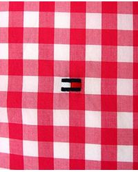 Tommy Hilfiger Custom Fit Checkered Shirts for men