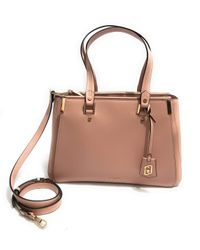 Borsa Liu-jo Double zip satchel L a mano/tracolla 3 comparti colore cameo rose BS20LJ49 di Liu Jo in Pink da Uomo