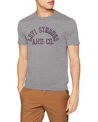 Graphic Set-in Neck Levi's pour homme en coloris Gray