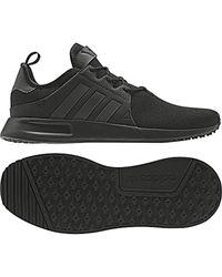 X_PLR, Chaussures de Gymnastique Adidas pour homme en coloris Black