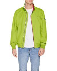 TJM Essential Casual Bomber Chaqueta Tommy Hilfiger de hombre de color Green