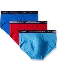 Culotte Classique en Coton. Slip Nautica pour homme en coloris Blue