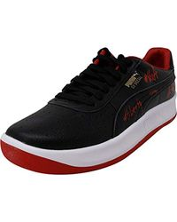 PUMA Gv Special A Ankle-High Leather Fashion Sneaker in Black für Herren