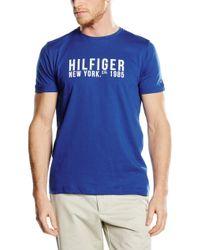 Tommy Hilfiger LARS Tee S/S RF T-Shirt in Blue für Herren