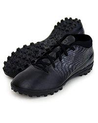 One 18.4 TT, Chaussures de Football Mixte Enfant PUMA pour homme en coloris Black