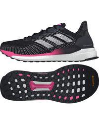 Solar Boost 19 W Core Black Silver Metallic Shock Pink 40 Adidas