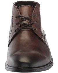 Ecco Brown Melbourne Chukka Ankle Boot for men