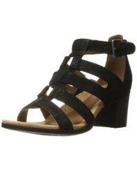 Rockport Black Hattie Gladiator Sandal