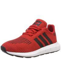 Swift Run C Adidas pour homme en coloris Red