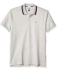 Tommy Hilfiger Gray Polo Shirt Classics Collection for men