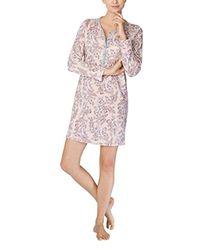 Gwyneth Camicia da Notte Donna, Grigio (Stein Meliert 096) 44(Taglia del Produttore: Medium) di Calida in Pink