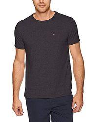 Tommy Hilfiger Black T Shirt Original Short Sleeve Tee for men