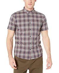 O'neill Sportswear Casual Standard Fit Short Sleeve Woven Shirt Button Down Hemd in Multicolor für Herren