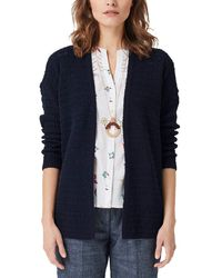 S.oliver Blue 14.904.64.2242 Strickjacke