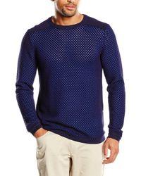 Jeans Crys 1 cn Sweater l/s Calvin Klein de hombre de color Blue