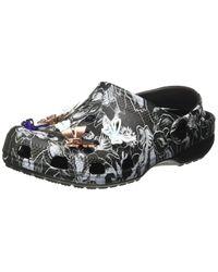 Crocs™ Reduziert Classic Botanical Butterfly Clog Black