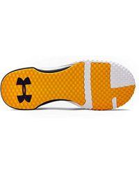 Project Rock 1, Chaussures de Sport Under Armour pour homme en coloris White
