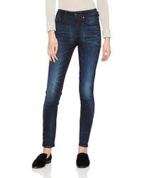 3301 High Waist Skinny Jeans di G-Star RAW in Blue