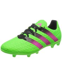 Ace 16.3 FG/AG Chaussures de Foot Homme Adidas pour homme en coloris Green