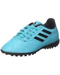 Conquisto II TF J, Chaussures de Football garçon Adidas pour homme en coloris Blue