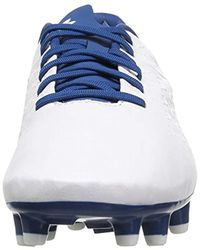 Under Armour White S Magnetico Premiere Fg Low Top Lace Up Running Sneaker