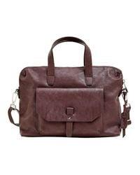 Working Bag Isa Bordeaux Red Esprit
