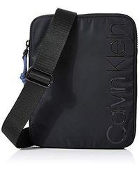 Trail Flat Crossover - Organizadores de bolso Hombre Calvin Klein de hombre de color Black