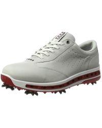 Ecco Golf COOL Golfschuhe in Metallic für Herren