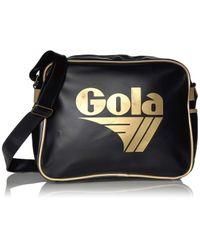 Borse Messenger di Gola in Black