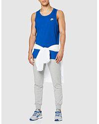 M NSW Club-Tank Chaussures de Sport Nike pour homme en coloris Blue