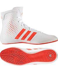 KO Legend 16.2 Chaussures de Boxe Mixte Adulte Adidas en coloris White