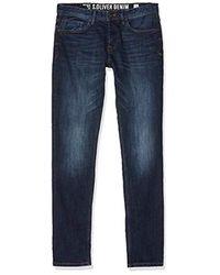 S.oliver Herren Straight Jeans in Blue für Herren