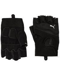 PUMA Black Tr Gloves M
