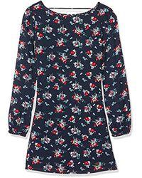 Vonda Teen, Vestido para Niñas, Multicolor (Multi), 14 años (Talla del fabricante: Small) Pepe Jeans de color Blue