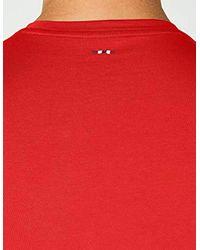 Syros T-Shirt Napapijri pour homme en coloris Red