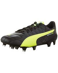 8a4f6583d Lyst - PUMA Evospeed Sl Leather Fg Soccer Shoe in Black for Men