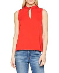 SL Polly Top Camiseta de Tirantes para Mujer Guess de color Red