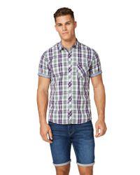 Tom Tailor Für Männer Blusen in Blue für Herren