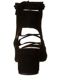 Steve Madden Black Admire Heeled Sandal
