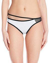 Sport Mesh Retro Pant-Slip Bikini Donna White 6 UK (Taglia Produttore: Piccolo) di Oakley
