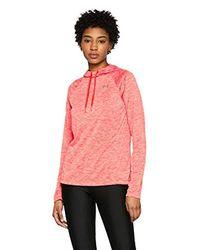 Under Armour Pink Tech Hoody 2.0- Twist Tech Ls Hoody 2.0- Twist Long-sleeve Shirt