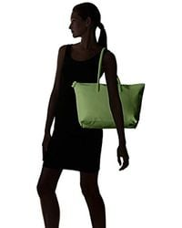 Lacoste Green L.12.12 Concept Large Shopping Bag, Nf1888po