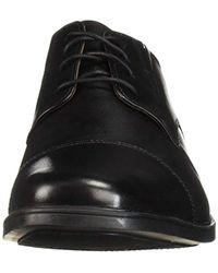 Clarks Herren Tilden Cap, braunes Leder, 39 EU in Black für Herren
