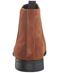 Calvin Klein Brown Rusty Ankle Boot for men