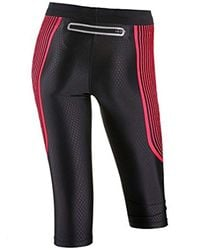Nike Black The Power Speed Running Tights/capris X-small