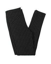 Anne Klein - Black Pinstripe Compression Pant - Lyst